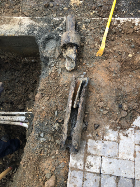 Corroded sewer main (3)