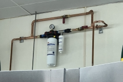 Installed new water filtration system for local business -pic 2