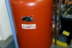 expansion tank for chilled water lines