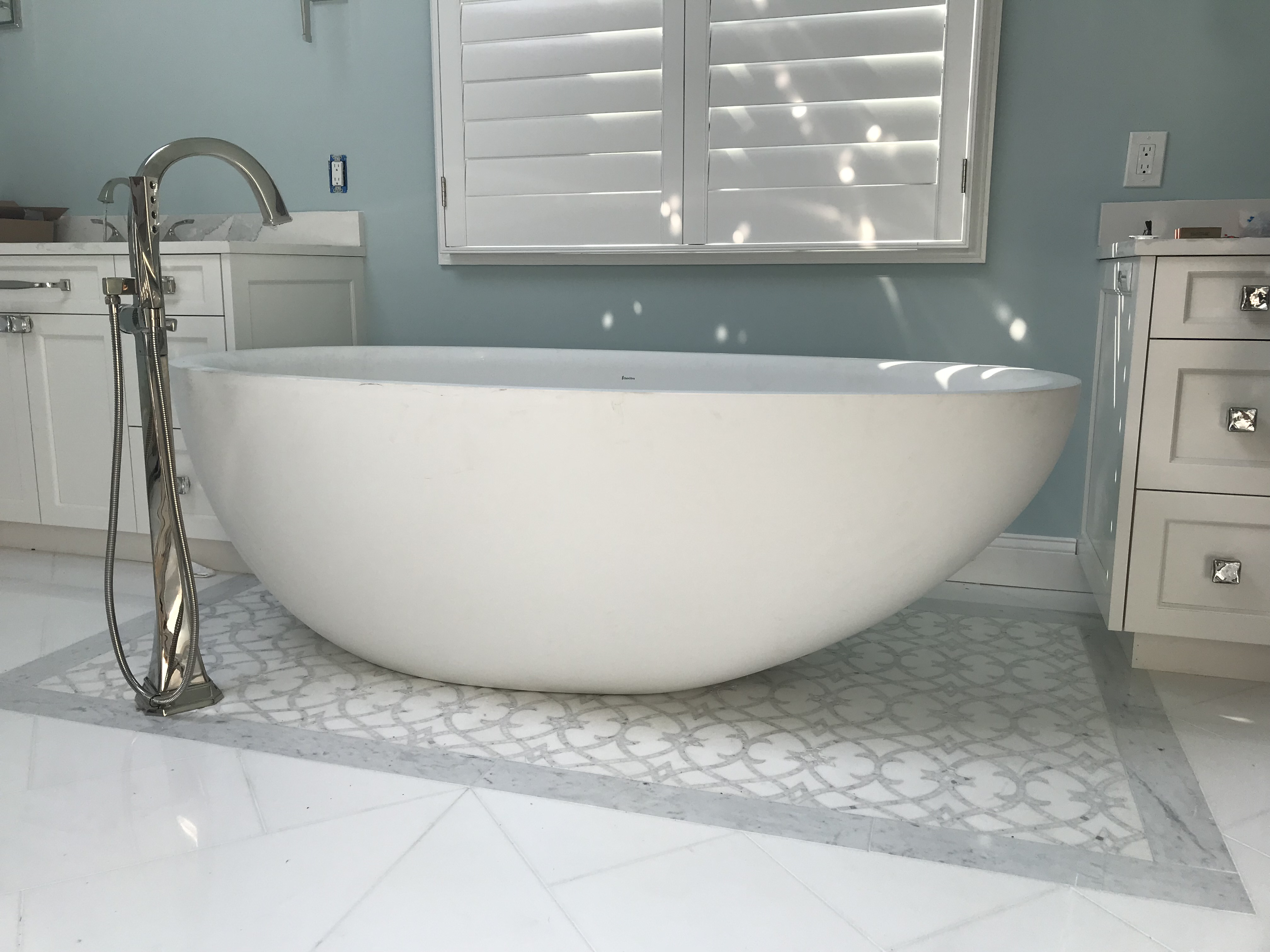 faucet for freestanding tub