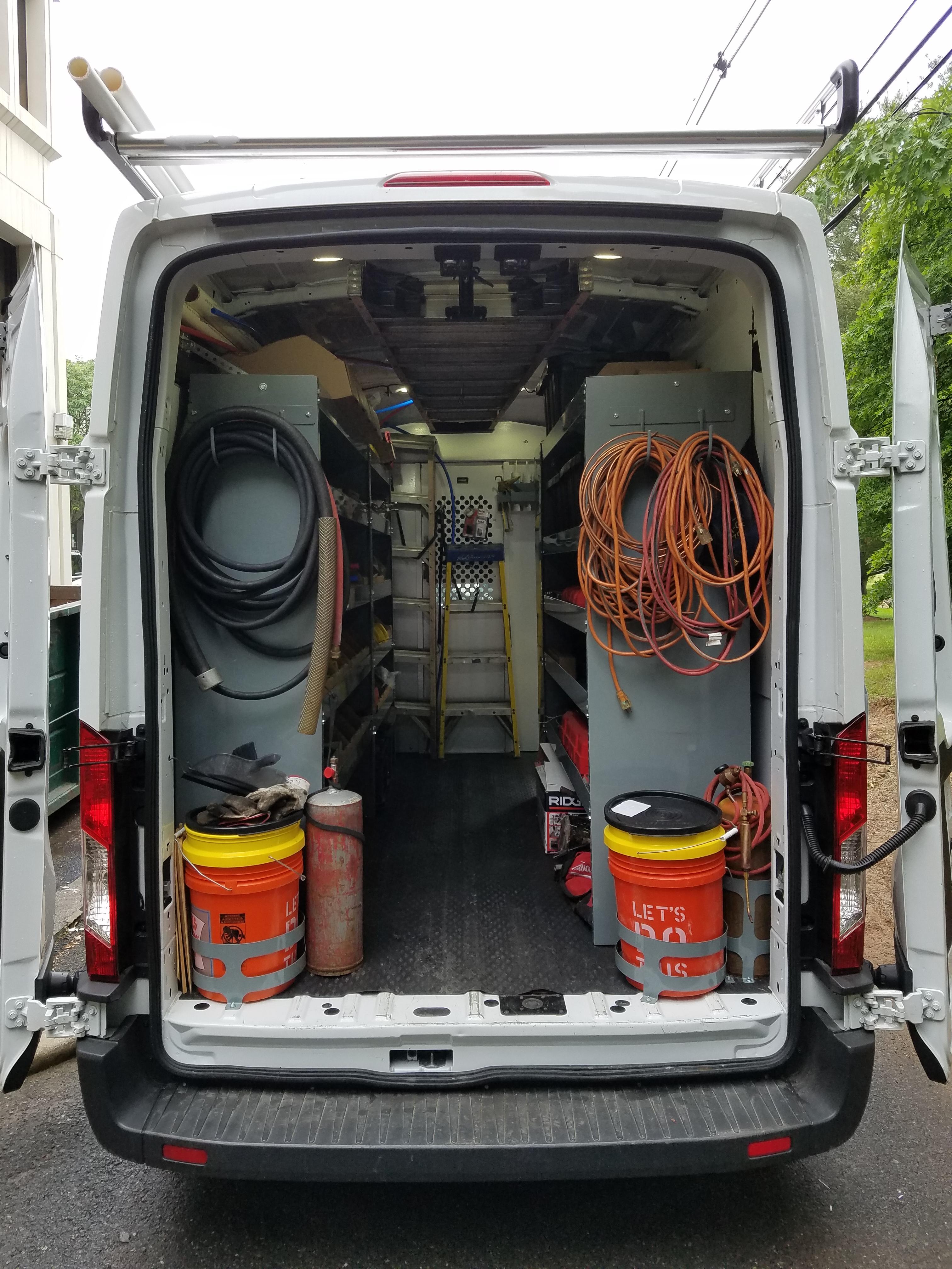 truck organized
