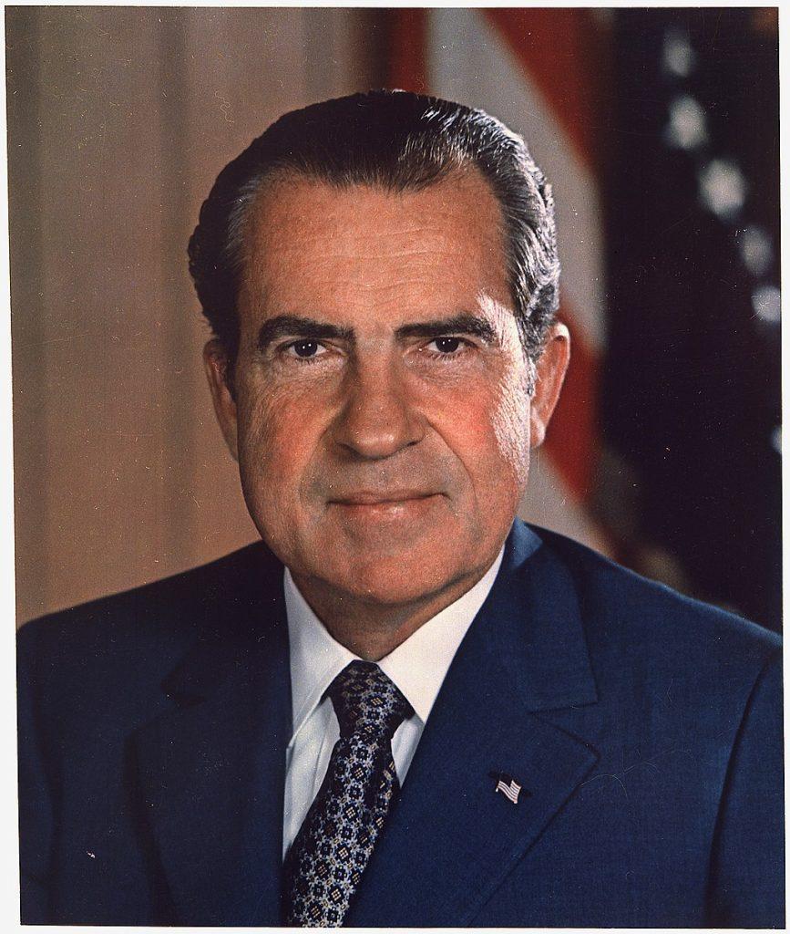 Richard Nixon - plumbing
